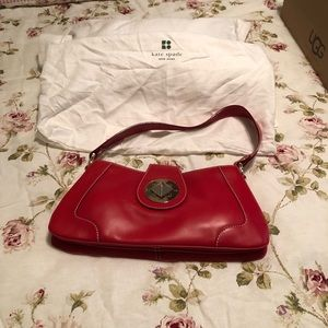 Small red Kate Spade purse
